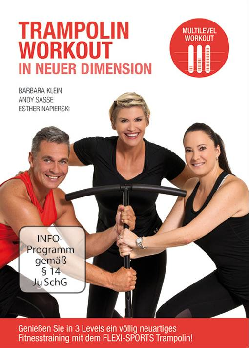 Flexi-Sports DVD Trampolin Workout in neuer Dimension