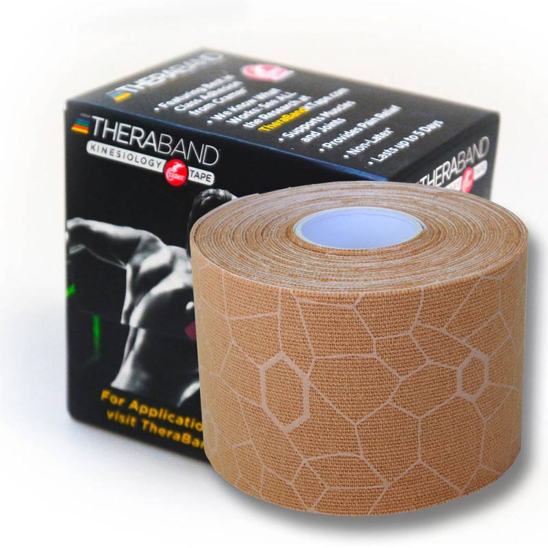 Thera-Band Kinesiology Tape 5 m Beige XactStretch