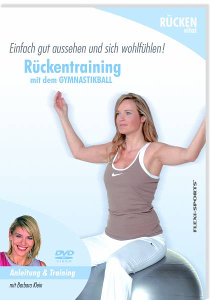 Softtool DVD Gymnastikball Rücken