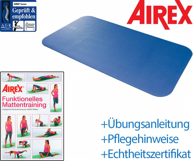 AIREX Corona 185 mit Trainings-DVD nach Wahl