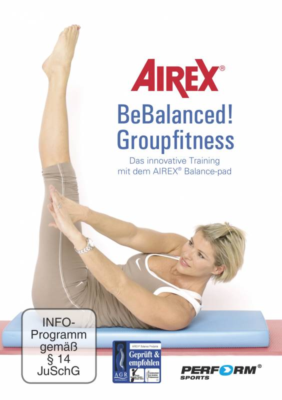 AIREX DVD Bebalanced Groupfitness