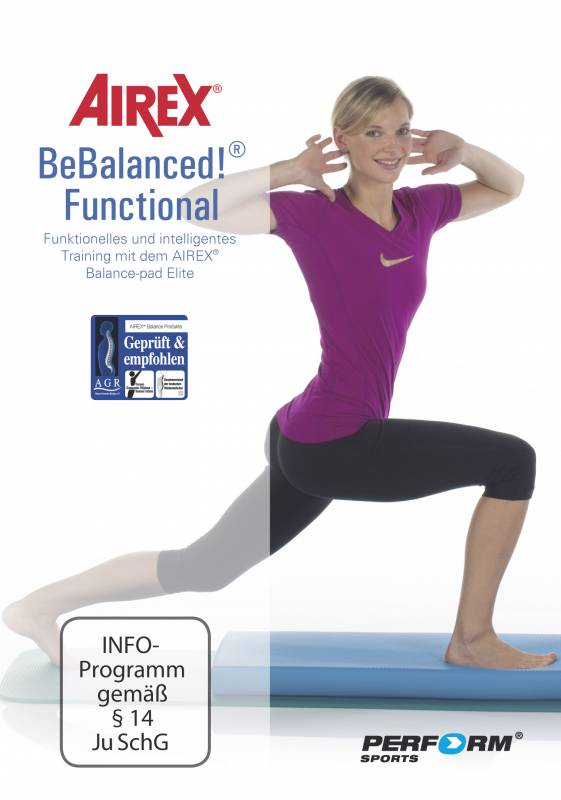 AIREX DVD Bebalanced Functional
