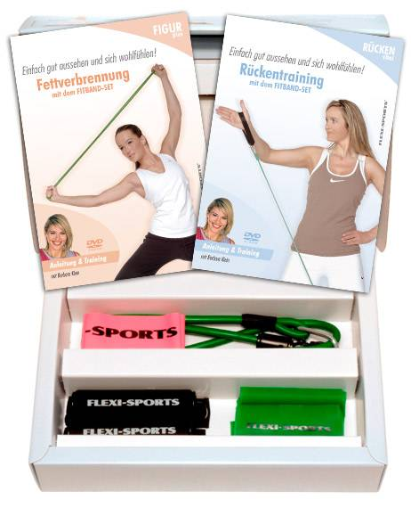 Flexi-Sports Softtool Fitband Figur & Rücken